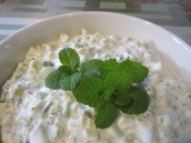 Yogurt and Cucumber Dip